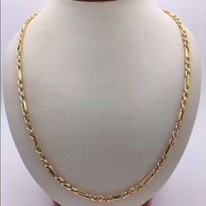 Other - Solid Gold Milano Rope Chain 6mm THICK 24 inches